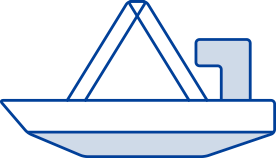 特殊ボートダビット